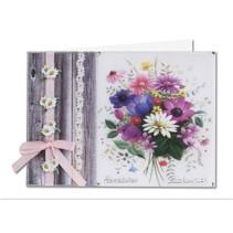Bastelset: Forår blomster på transparent papir