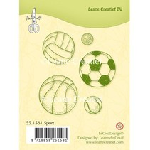 Transparent Stempel, Sport