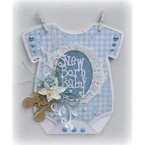 A4 modèle: carte bébé