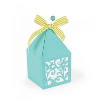 Troquelado y estampado en relieve plantilla: Box