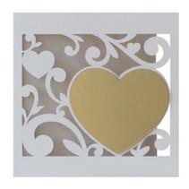 Edles Kartenset: 5 filigrane Hochzeitskarten