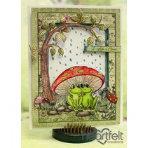 HEARTFELT EXCLUSIVE des Etats-Unis! Stamp Set: Flirter Frogs