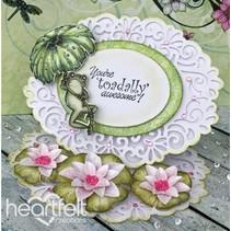 HEARTFELT EXCLUSIVE des Etats-Unis! Stamp Set: Water Lily