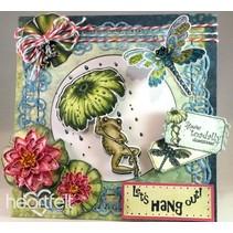 HEARTFELT EXCLUSIVE des Etats-Unis! Stamp Set: Froggy Hangout