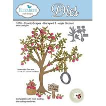 Elizabeth Craft Design Le Pays Scapes, Apple Tree