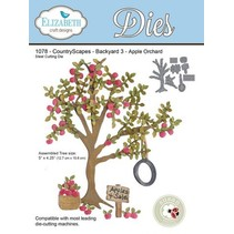 Elizabeth Craft Design The Country Scapes, Apple Tree