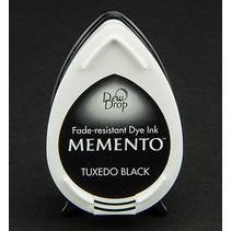 Memento dugdråber stempel blæk InkPad Tuxedo Black