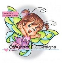 Transparent Stempel, Butterfly Twilla
