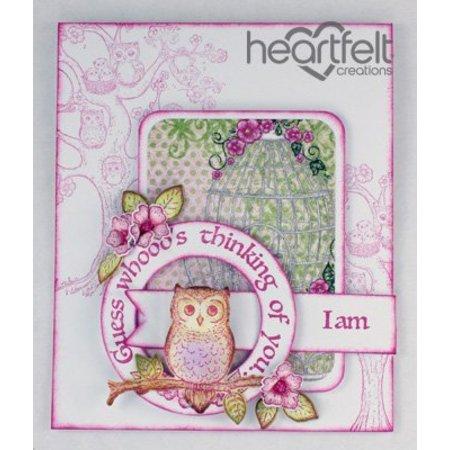 "Heartfelt Creations aus USA Gummi stempel sæt ""Det er Owl Godt"""