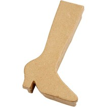 Box in boots shape, H: 23 cm, 1 pc.