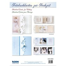Complete set for photo book tickets to the wedding