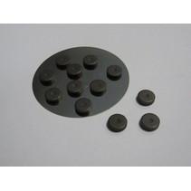 12 mini-aimant 12 mm x 2 mm