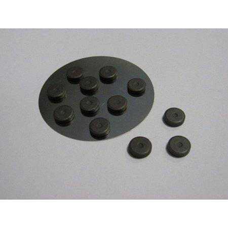 Embellishments / Verzierungen 12 mini magnet 12 mm x 2 mm