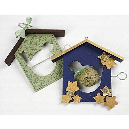 Objekten zum Dekorieren / objects for decorating 1 mangeoire, 19x21 cm, Pine