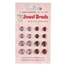 Jewels Brads, Bordeaux / Lyserød