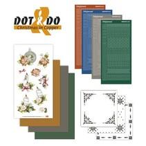 Bastelset zur Karten Gestaltung für 4 Karten
