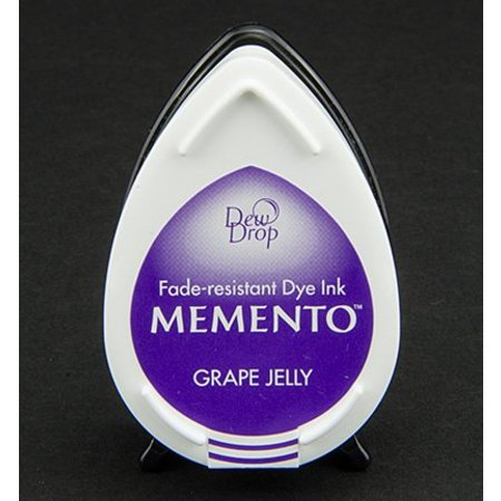 FARBE / INK / CHALKS ... Memento dugdråber stempel blæk InkPad-Grape Jelly