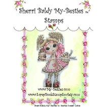 "My-Besties ""Sherri Baldy"" gennemsigtige frimærker"