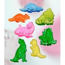 Seifengießform, Dinos, 7 piezas de 4,5 cm