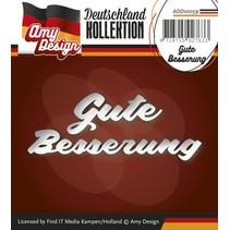 Punzonatura e goffratura modelli: Versione tedesca: Get Well Soon