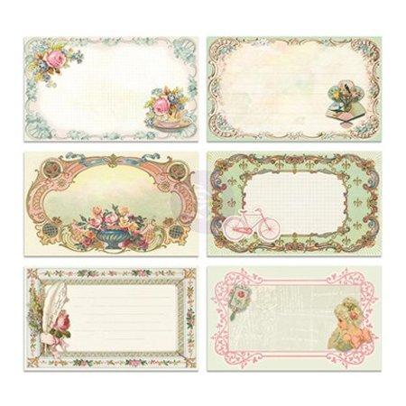 Embellishments / Verzierungen 30 Jolie image Notecards - Delight, 30 pièces, 12,7 x7, 62cm