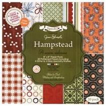 20x20cm, papier de concepteur, paquet de papier de spécialité - Hampstead par Jesse Edwards, 20 feuilles