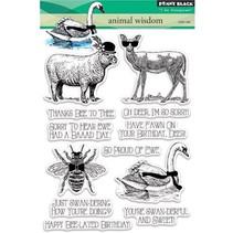 Transparent stamp: Animal kingdom