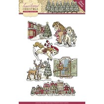 NYHED Transparent stempel: Christmas
