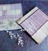 "DESIGNER BLÖCKE  / DESIGNER PAPER Designer Block, 30,5 x 30,5 cm, ""Lavender Garden"""