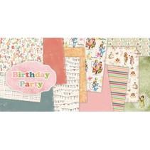 "Designerblock, 30,5 x 30,5cm, ""Birthday Party"""