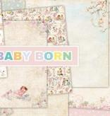 "DESIGNER BLÖCKE  / DESIGNER PAPER Bloque diseñador, 30,5 x 30,5 cm, ""New Born Baby"""