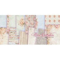 "Designer Block, 30,5 x 30,5 cm, ""Rose Garden"""