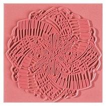 tapis de texture, Musique, 90 x 90 mm, 1 pièce