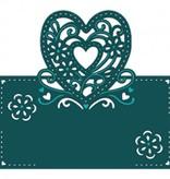 Die'sire Estampación y embutición de la plantilla de Diesire, el corazón, las flores y las esquinas