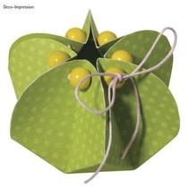 Plantilla, flor, 2 piezas