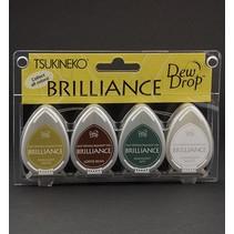 Brilliance Dew Ink Drop, jeu de 4 couleurs