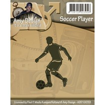 Poinçonnage et gaufrage modèles: Footballeur