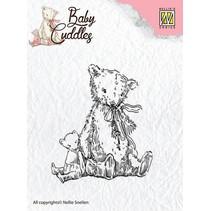 tampons transparents bébé Cuddles - Teddy Bears