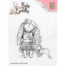 Transparent Stempel, Baby Cuddles Baby, Princess Rabbit