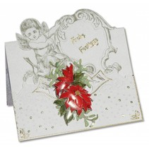 3 angel cards + 3 envelopes in white