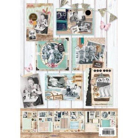 Bücher und CD / Magazines A4 kort bog, Vintage
