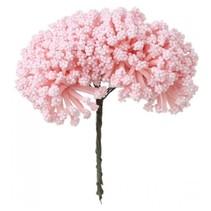 Mini buket, pink, vintage look