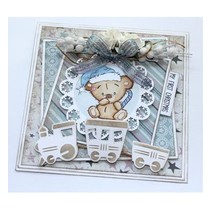 timbre transparent: Baby et Teddy Bears