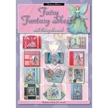 A4 libro: Fogli fairy fantasia