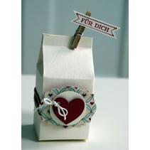 A4 Skabelon: Card Art Box