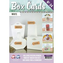 Cover with pre-punched, different boxes
