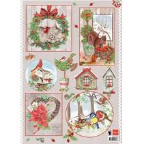 A4 Bilderbogen: Navidad del país