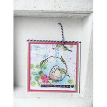 Transparent Stempel: Birdy