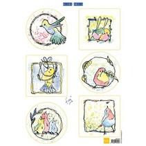 Bilderbogen, pequeños pájaros lindos