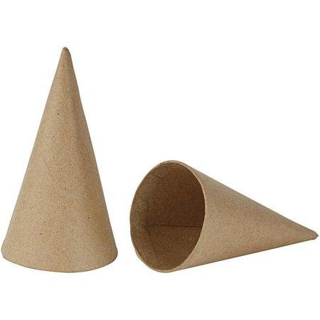 Cone, H: 14 cm, D: 7 cm, 12 pièces